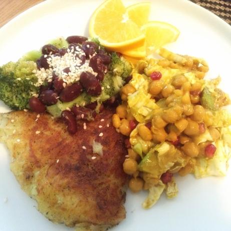 Kartuliröst aurutatud brokoli ja ubadega